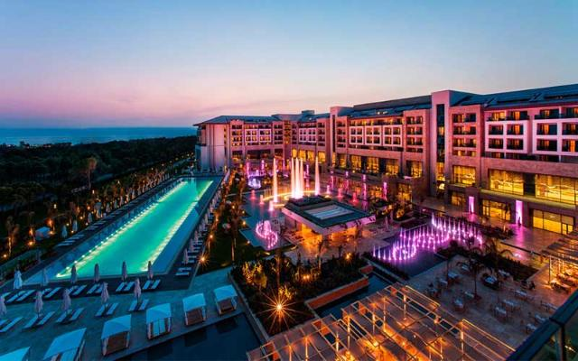 smeštaj Regnum Carya Golf & Spa Resort